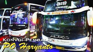 Video #PantuRACE: Konvoi bus Pembalap PO Haryanto, HR 20, 23, 85... SUOOSSSS MP3, 3GP, MP4, WEBM, AVI, FLV Januari 2018