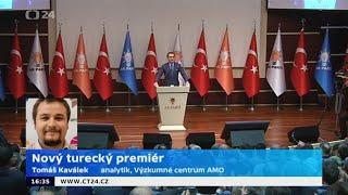 Nový turecký premiér