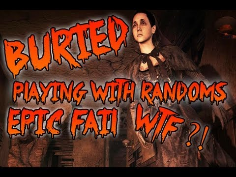 Black Ops 2 – Buried – Playing With Randoms – EPIC FAIL #1 – Always Watch Your Sides