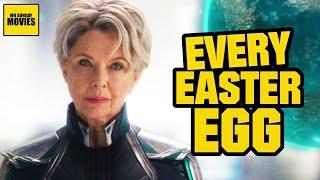 Captain Marvel - All Easter Eggs