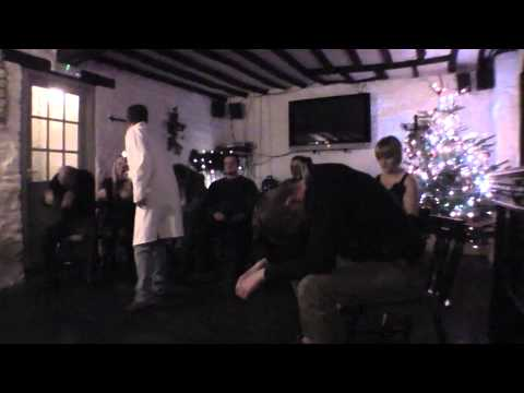 Chris Doc Strange Comedy Hypnosis @ The Falcon Inn, Painswick, Christmas 2011
