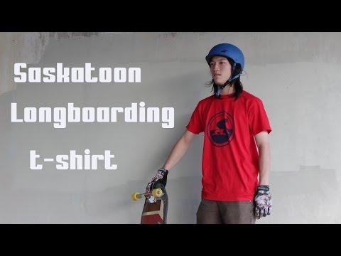 Saskatoon Longboarding T-Shirt by Bold Clothes