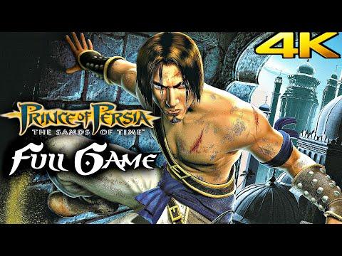 PRINCE OF PERSIA SANDS OF TIME Gameplay Walkthrough FULL GAME 100% (4K 60FPS)