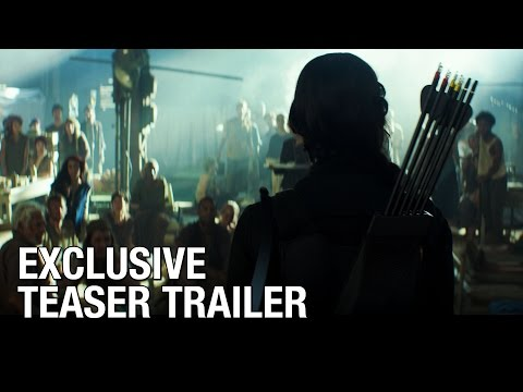 """Our Leader the Mockingjay"" – Official Teaser Trailer for Mockingjay Part 1"