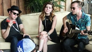Echosmith Interview! Singing In The Shower, Bad Rabbits, and More!