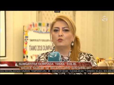 '' ATV VƏ DTV KANALLARINDA'' ''TİAMO KİDS DAHİ UŞAQLAR MƏRKƏZİNİN OLİP