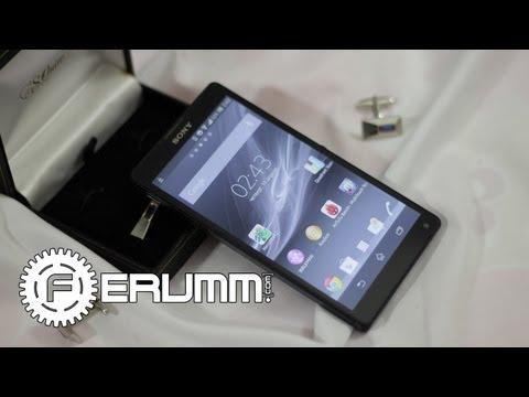 Sony Xperia ZL - подробный видеообзор от сайта Ferumm.com (видео)