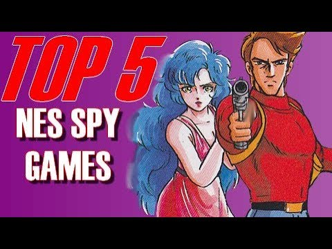 Top 5 NES Spy Games | MAXIMPACT24 |
