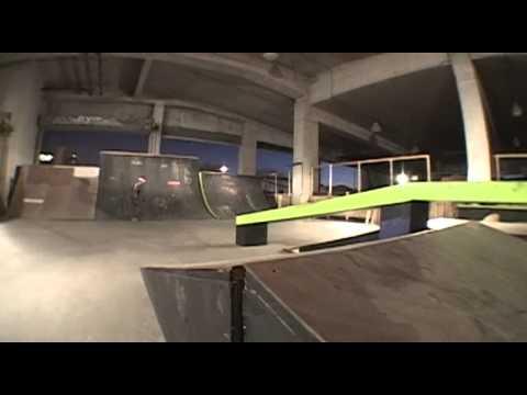 NEW! KC Indoor skate park 2013 SNEAK (peak-a-tage)