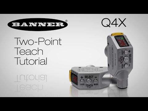 Q4X Black Foam on Black Plastic - Two-Point Teach Tutorial