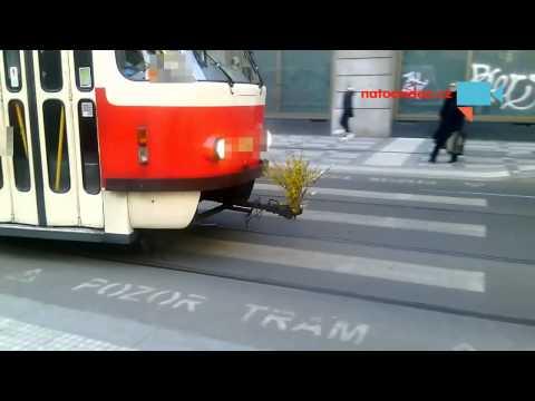 Majálesová tramvaj v Praze