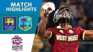 Explosive Andre Fletcher Smashes 84* | Sri Lanka vs West Indies | ICC Men's #WT20 - Highlights