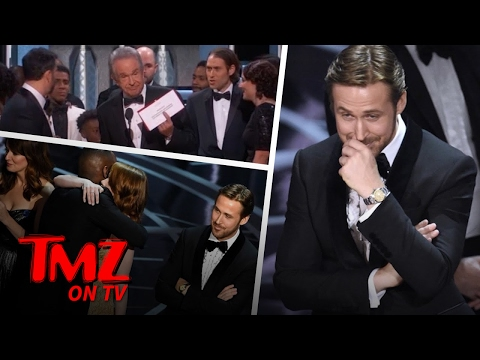 Ryan Gosling's Reaction To Oscars Screw Up Is Priceless | TMZ TV (видео)