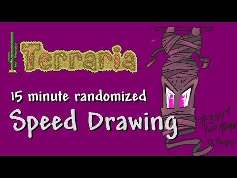 Video thumbnail for Terraria 15min QuickDraw #3 – Dark Mummy Banner