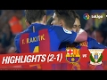 Resumen de FC Barcelona vs CD Leganés (2-1)