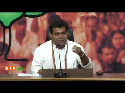 Press conference by Pt. Shrikant Sharma on the appointment of Imran Masood as VP of Congress in UP