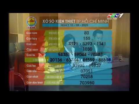 Xổ số kiến thiết TP.HCM    HTV1    10/08/2020