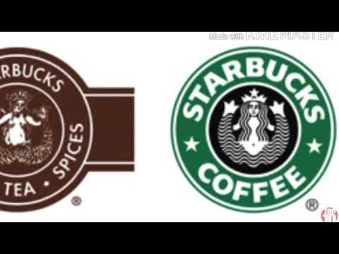 Top 10 famous logo's then and now