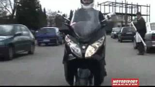 6. Suzuki Burgman 400 TEST REVIEW Motorsport Magazin by Vladimir Šestović