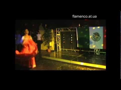 Мексиканский танец в исполнении Нелли Сюпюр.