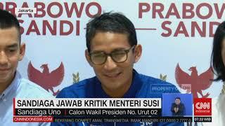 Video Sandiaga Jawab Kritik Menteri Susi MP3, 3GP, MP4, WEBM, AVI, FLV November 2018