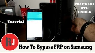 How to bypass Factory Reset Protection on Samsung devices without PC or OTG cable. click show more to see all the links listed below. hope this helps those of ...