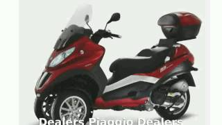 4. 2008 Piaggio MP3 Three Wheeler 250  Info Dealers