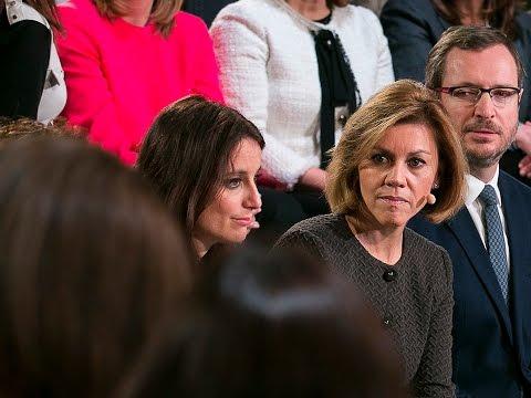 """Cospedal: """"El punto clave de la política de mujer del PP es la igualdad de oportunidades"""""""