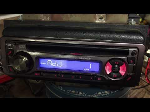 Panasonic CQ C1100U Car Radio For Sale