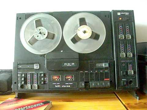 magnetofon szpulowy Unitra ZRK Aria MS-2411