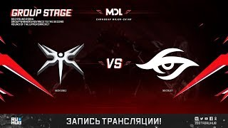 Mineski vs Secret, MDL Changsha Major, game 1 [Maelstorm, LighTofHeaveN]
