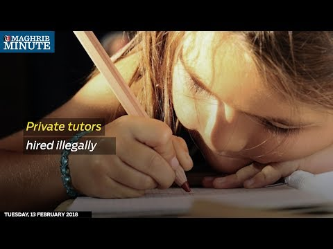 Residents in Oman continue to employ private tutors, despite the practice being illegal in Oman