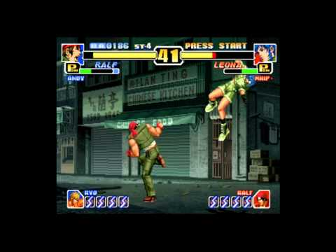 king of fighters 99 playstation rom