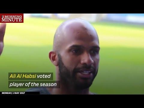 Ali Al Habsi voted player of the season
