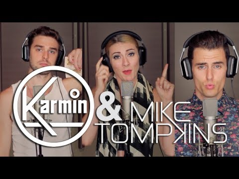 Mike - Hey guys, I had an amazing time with these folks (Karmin) on tour this summer. They wrote this song called Acapella - and we figured it would be cool for us ...