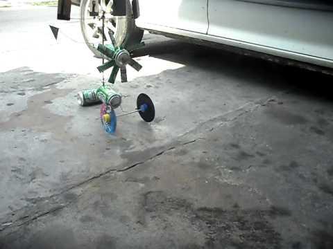 รถพลังงานลม ประดิษฐ์โดยคนไทย