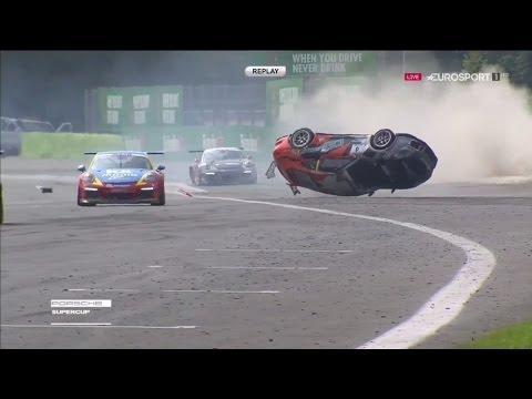 Accidente Porsche Supercup - Monza