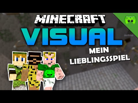 MINECRAFT Adventure Map # 77 - Visual Project 2 «» Let's Play Minecraft Together | HD