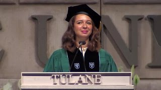Video Maya Rudolph delivers commencement laughs to Tulane Class of 2015 MP3, 3GP, MP4, WEBM, AVI, FLV Maret 2019