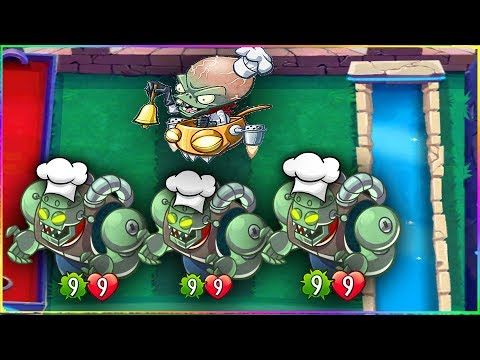 When Zombot TRIES To Cook In PvZ Heroes