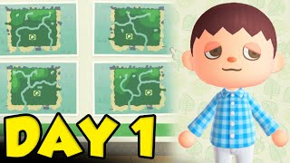 Animal Crossing New Horizons Gameplay Day 1 - The Perfect Playthrough by Verlisify