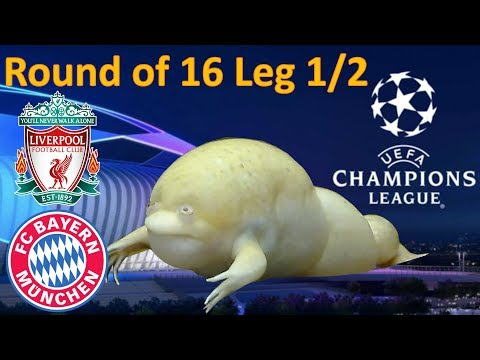 Liverpool Vs Bayern | UEFA Champions League 2018 Predictions | The Guessing Frog Round Of 16 Leg 1/2