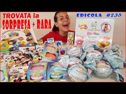 Novità SBABAM in Edicola: melmito slime, doki doki squishy, tsum tsum disney (by Giulia Guerra) (видео)