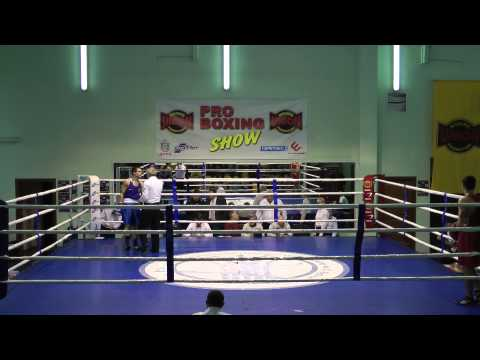 1  52 кг -- Габидуллин Азат, Донецк -- Саранча Сергей Мариуполь (видео)
