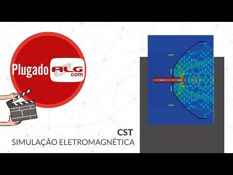 Aplicação de Simulação Eletromagnética