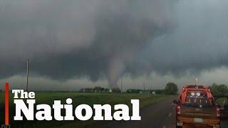 Virden (MB) Canada  city images : Massive tornado in Manitoba