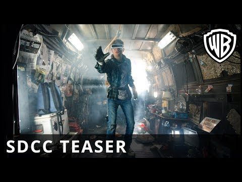 Ready Player One - SDCC Tráiler?>