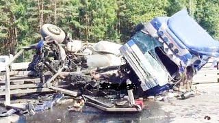 Аварии грузовиков за Июнь  2016