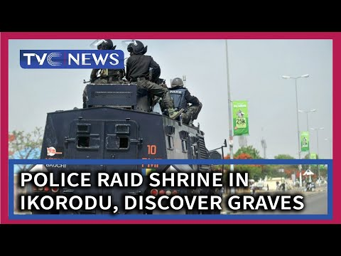 Police raid shrine in Ikorodu, discover graves