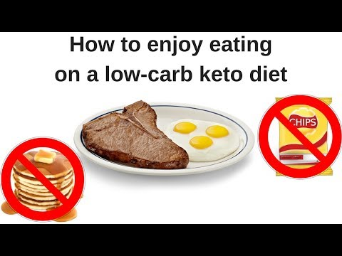 Low carb diet - How to enjoy eating on a low carb keto diet